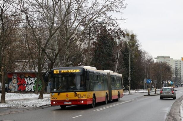 Zmiany dla linii 401 Ztm.waw.pl