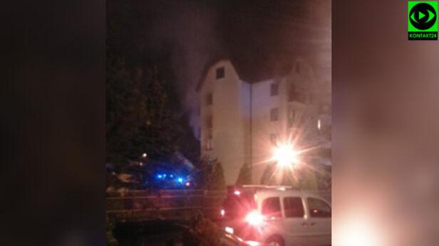 Pożar przy Mehoffera And / Kontakt 24