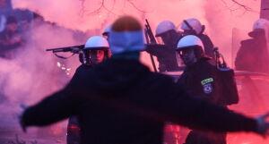 Policja: 176 osób doprowadzonych na komisariaty po burdach