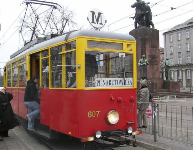 Parada tramwajów  ZTM
