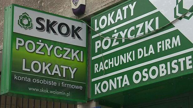 Problemy SKOK Wołomin TVN24