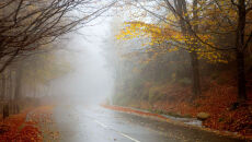 Mgły ustępują i zmieniają się w stratusy