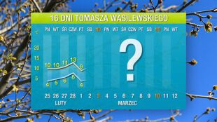 Prognoza pogody na 16 dni: znowu będzie ciepło