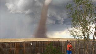 """Gdy trzeba skosić trawę, tornado nie jest ważne. """"Miałem na nie oko"""""""