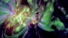 Gigantyczna plama słoneczna zwraca się ku Ziemi