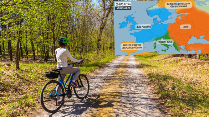 Jaka będzie wiosna w Polsce? Prognoza amerykańskich meteorologów