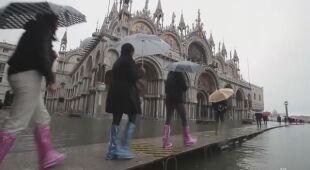 Poziom wody w Wenecji jest bardzo wysoki